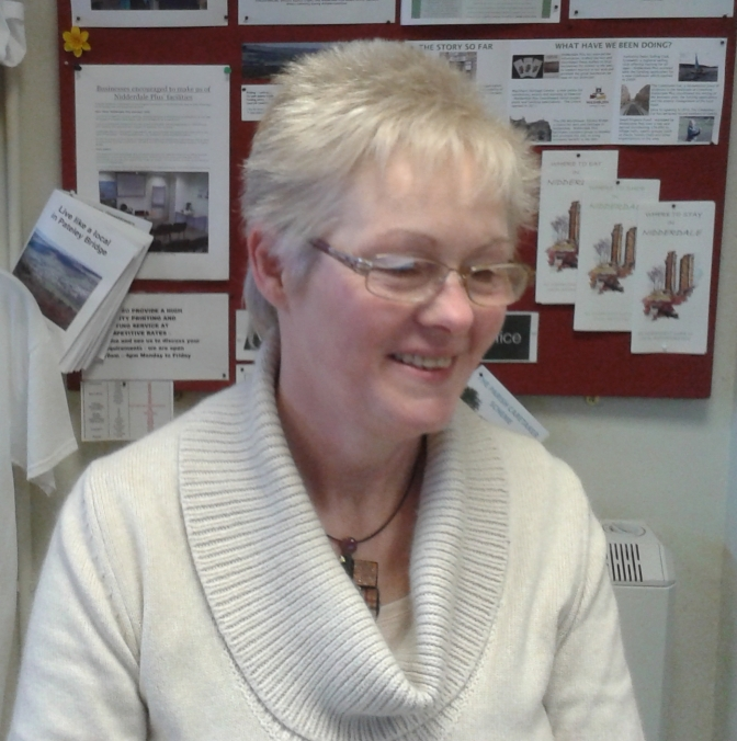 Warm welcome to Sandra Walker our new member of staff