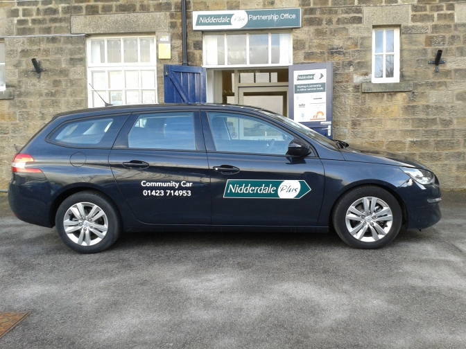 Community Car, serving residents of Nidderdale!